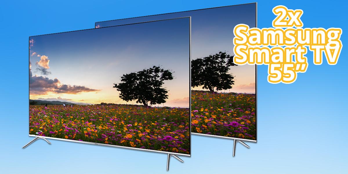 2x Samsung SmartTV 55 Zoll